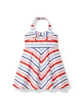 striped-halter-dress by janie-and-jack
