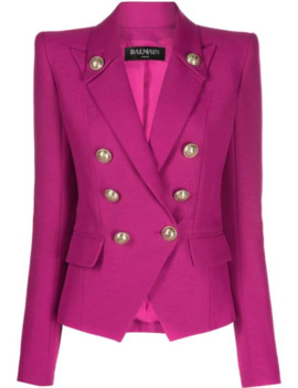 tailored-double-breasted-blazer by balmain