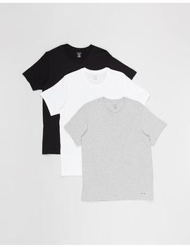short-sleeve-crew-t-shirt-3-pack by calvin-klein