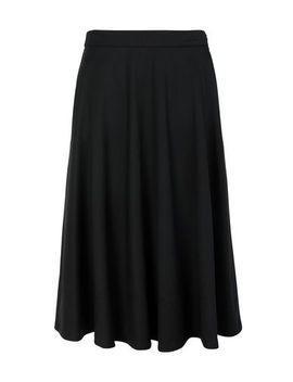 wool-twill-half-circle-skirt by calvin-klein