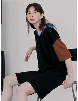 loose-fit-collar-knit-dress by rocket-x-lunch