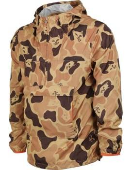 Ripndip             Nerm Camo Packable Anorak Windbreaker by Ripndip