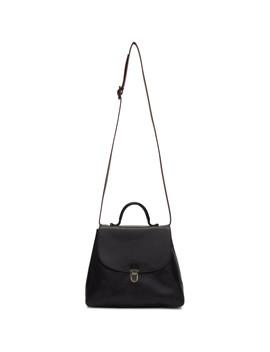 black-small-lock-bag by cherevichkiotvichki