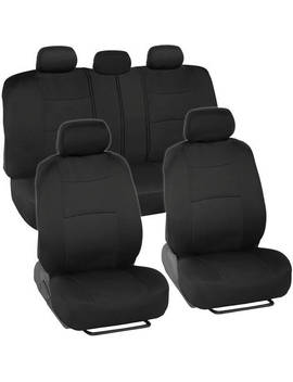bdk-polycloth-car-seat-covers,-2-tone-split-bench-easywrap-full-set by bdk