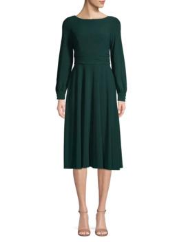 long-sleeve-knee-length-dress by eliza-j
