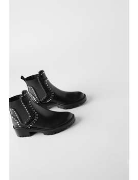 low-heeled-lug-sole-ankle-boots-with-studs by zara