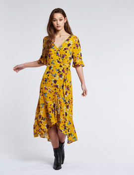 band-of-gypsies-victoria-dress,-mustard by farmers