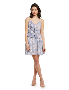 h-by-harlow-sophie-floral-print-dress,-blue by farmers