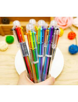 1pc-multi-6-colors-in-one-set-ball-point-ballpoint-pen-for-writing-school-office-supplies-stationery-kids by aliexpresscom