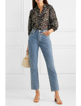 floral-print-georgette-blouse by ganni