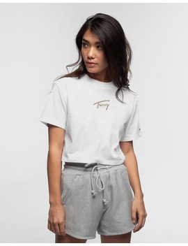 tommy-jeans-womens-summer-retro-tee-classic-white by tommy-jeans
