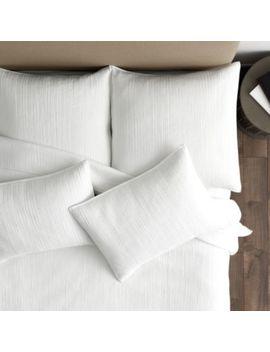 Maddie Channel Stitched Bedding by Ballard Designs