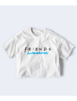 Friends Cropped Graphic Tee by Aeropostale