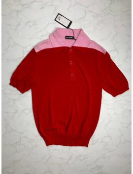 🔥🔥🔥[sale]-raf-simons-knit-polo-sweater by raf-simons  ×