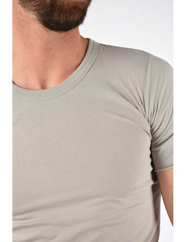 cotton-basic-t-shirt-pearl by rick-owens