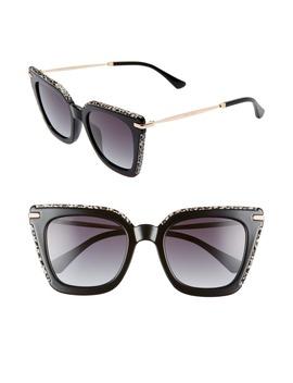 ciara-52mm-cat-eye-sunglasses by jimmy-choo