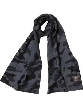 ugg-mens-camo-scarf-black-multi by ugg