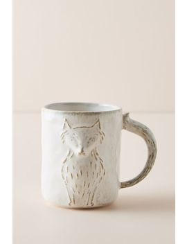 kylo-fox-animal-mug by anthropologie