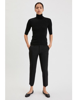 Luisa Cropped Cool Wool Slack by Filippa K