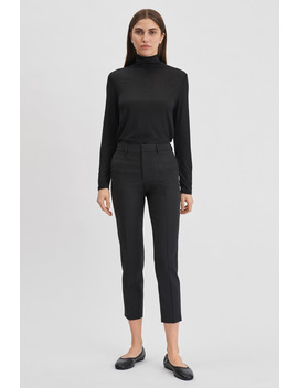 Emma Cropped Cool Wool Trouser by Filippa K