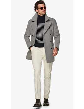 Light Grey Peacoat by Suitsupply