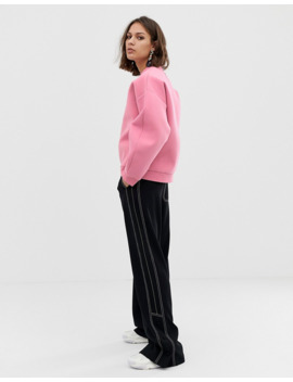 asos-white-–-verstärktes-sweatshirt by asos