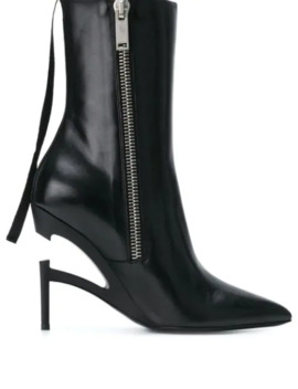 zipped-heel-boots by unravel-project