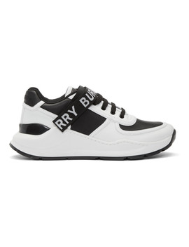 black-&-white-ronnie-m-sneakers by burberry