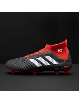 Adidas Predator 18.1 Fg   Core Black/White/Red by Pro Direct Soccer