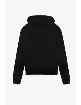 Distressed Hoodie by Other Uk