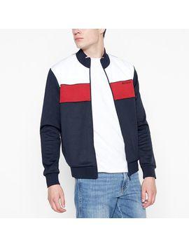 navy-colour-block-track-jacket by ben-sherman
