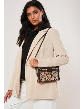 brown-snake-print-box-bag by missguided