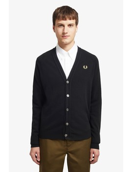 Reissues Lambswool Cardigan by Fred Perry