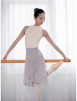 professional-adults-middle-long-chiffon-ballet-skirts-women-lyrical-soft-lace-up-ballet-dress-ballerina-dance-costumes by aliexpresscom