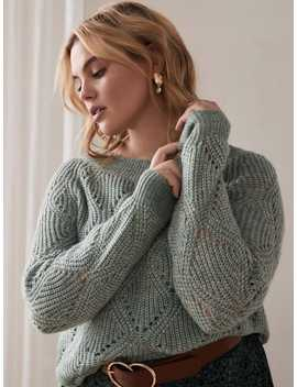 pointelle-knit-cocoon-sweater---addition-ellepointelle-knit-cocoon-sweater---addition-elle by addition-elle