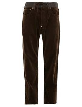 leather-pocket-cotton-corduroy-trousers by junya-watanabe