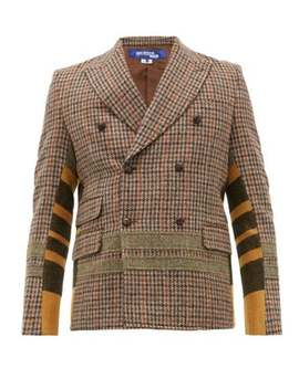 patchwork-double-breasted-wool-blazer by junya-watanabe