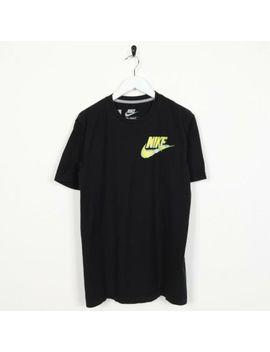vintage-nike-graphic-logo-t-shirt-tee-black-|-medium-m by nike