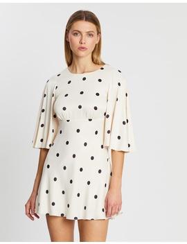 shelby-circle-sleeve-mini-dress by shona-joy