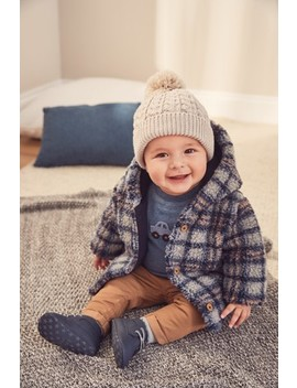 blue-checked-borg-jacket-(0mths-2yrs) by next