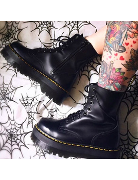 2020-new-leather-boots-women-shoes-black-martens-boots-for-women-boots-ankle-dr-motorcycle-shoes-thick-heel-platform-botas-mujer by aliexpresscom