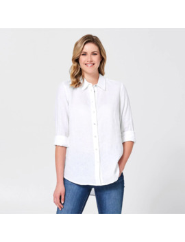 linen-shirt---white by target