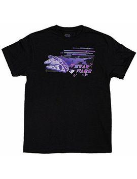 mens-star-wars-millenium-falcon-retro-80s-graphic-t-shirt by fifth-sun