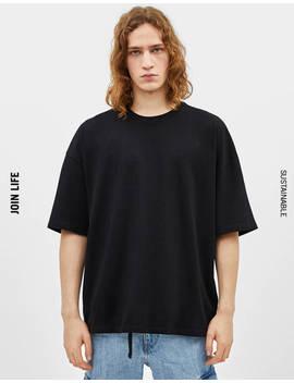 maglietta-con-fit-extra-loose by bershka