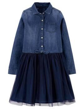 denim-tulle-dress by oshkosh|-kid