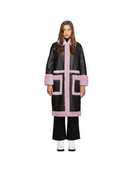 black-&-purple-riley-coat by stand-studio