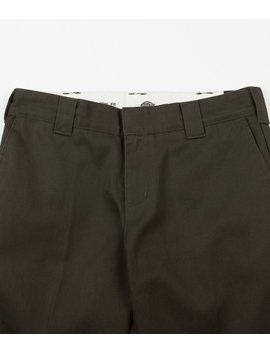 Dickies 872 Slim Work Trousers   Olive Green by Dickies