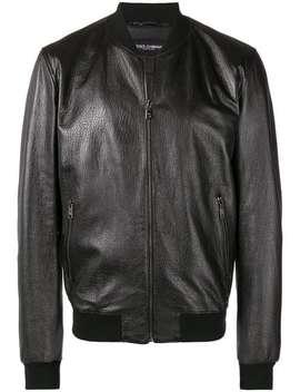 leather-jacket by dolce-&-gabbana