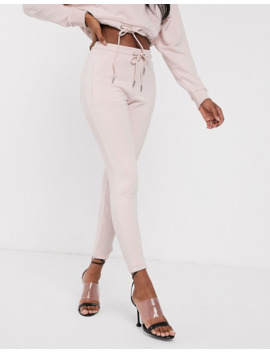 the-couture-club-skinny-motif-jogger-in-washed-pink by asos