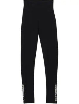 logo-detail-stretch-jersey-leggings by burberry